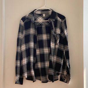BP Navy Flannel